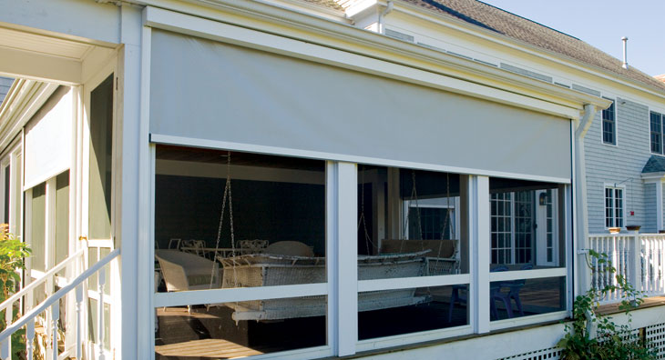 Exterior Solar Shades & Insect Screens | Home | Shreveport Bossier ...
